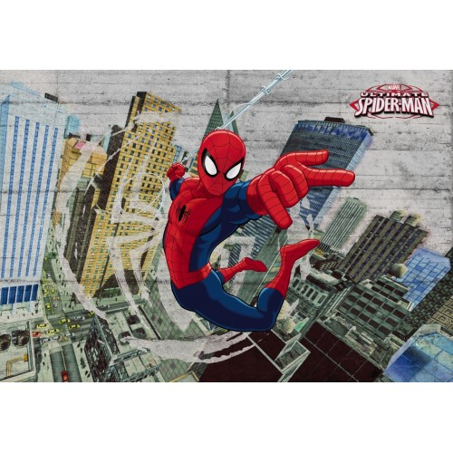 Fotomural Marvel 8-467 Spider-Man Concrete