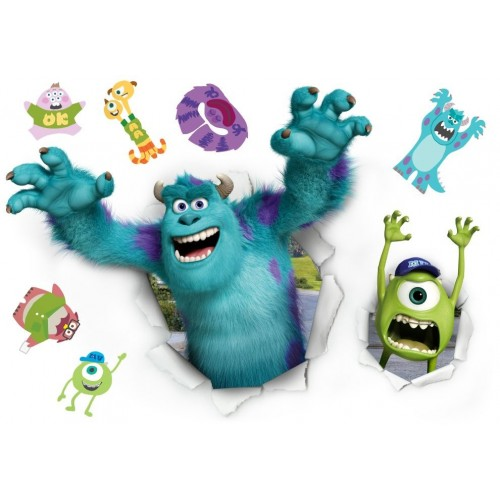 Vinilo decorativo infantil Monsters