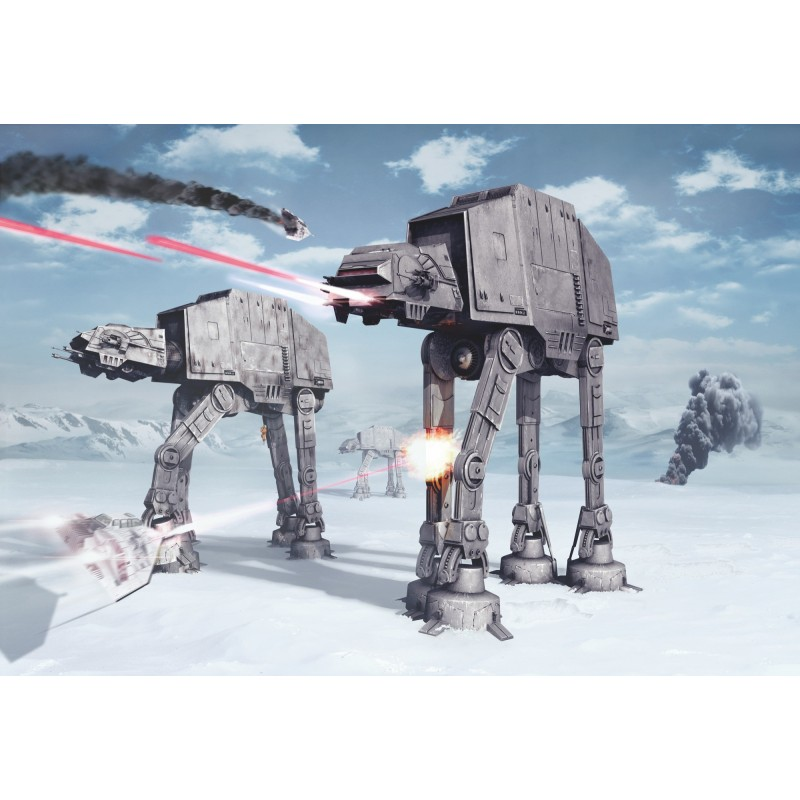 Fotomural Komar Star Wars Battle of Hoth 8-481