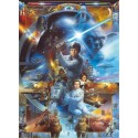 Fotomural Komar Star Wars Luke Skywalker Collage 4-441