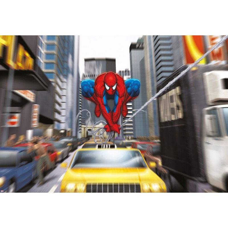 Fotomural Marvel Spider-Man Rush Hour