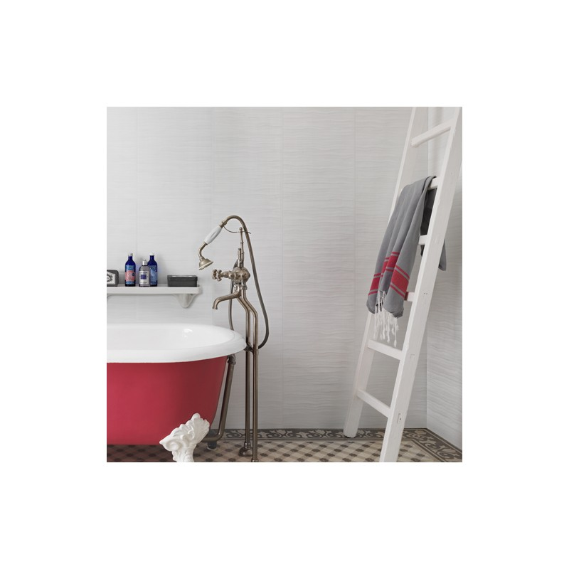 Gama Element Wave Mineral pure white (Paquete 3,90m2)