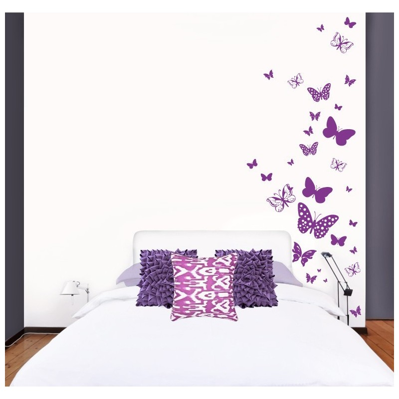 Sticker Myvinilo Butterflies