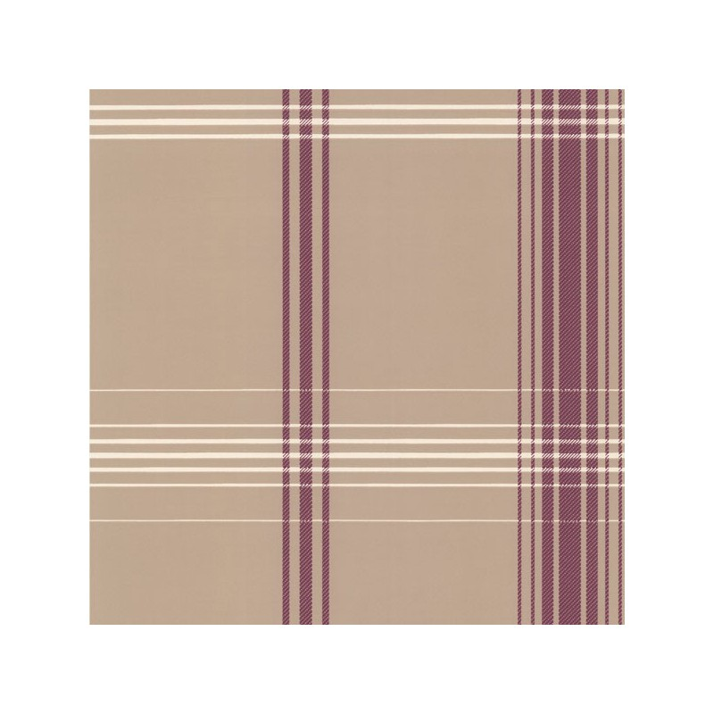 Papel Pintado Oskar Purple Plaid Decorline DL 30475