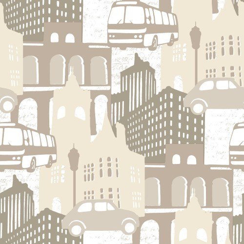 Papel pintado Kemen City Lights 2657