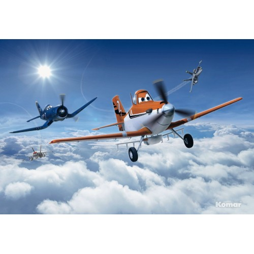 Fotomural Komar Planes Above the Clouds 8-465